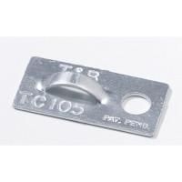T&B Alumiinikiinnike  max 4,8 mm siteelle 100 kpl